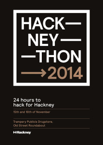 Hackneython poster with new dates